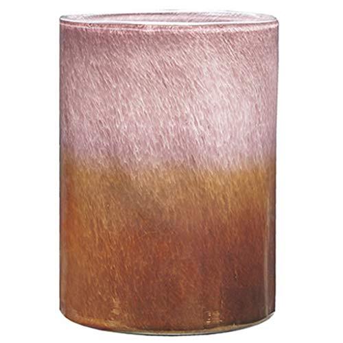 Weq Vaas glazen vaas decoratie woonkamer tafel salontafel decoratie gedroogde bloem thuis accessoires gradiënt kleur