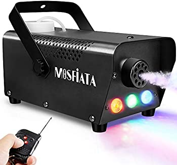 Mosfiata Fog Machine with Controllable Lights