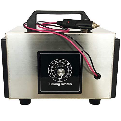 Sterilisator Ozon Generator Commercial Cleaner Air Purifier met tijdschakelaar Comfort Stainless Steel Professional Ozonator Deodorizer - 10g