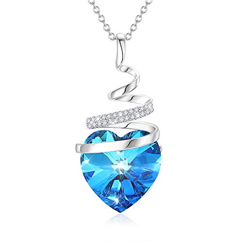 Amazon - Crystal Butterfly Heart Necklace $4.94