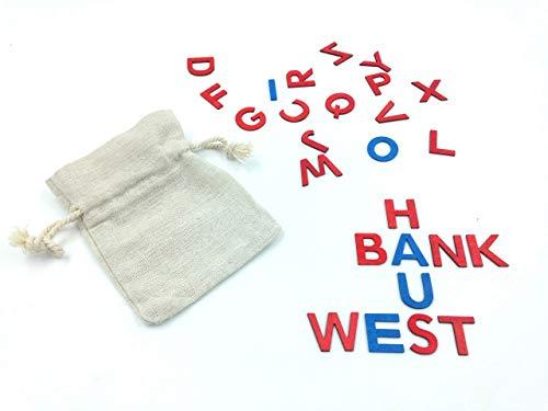Bewegliches Alphabet Buchstaben Einschulung Grundschule Kindergarten Lernen Wörter Wort Begriffe ABC Montessori Waldorf Konsonanten Vokale