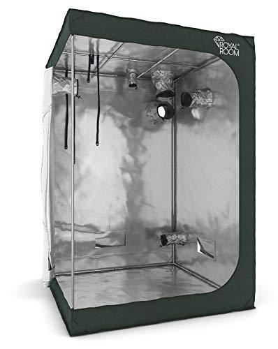 RoyalRoom® Growbox C150 150x150x200cm Growzelt Gewächshaus