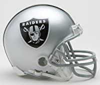 Oakland Raiders Riddell Mini Football Helmet - New in Riddell Box