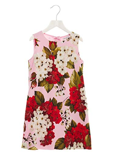 DOLCE E GABBANA Luxury Fashion Mädchen L59D79FSRMOHF1BM Rosa Kleid |