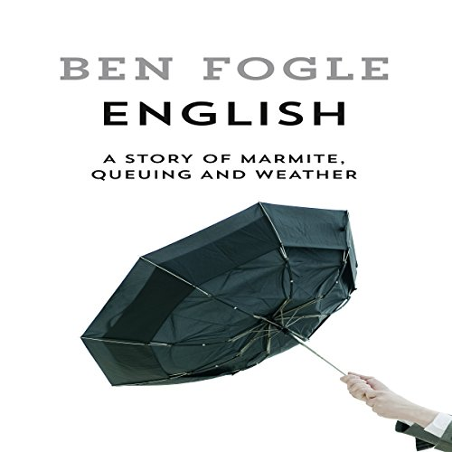 English audiobook cover art