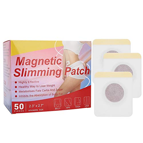 Weight Loss Sticker, 50Pcs Belly Patch Slimming Weight Sticker, Promote Metabolism Loss Fat Firming Sticker, Navel Fat Burning Adhesive Sticker for Woman, Man