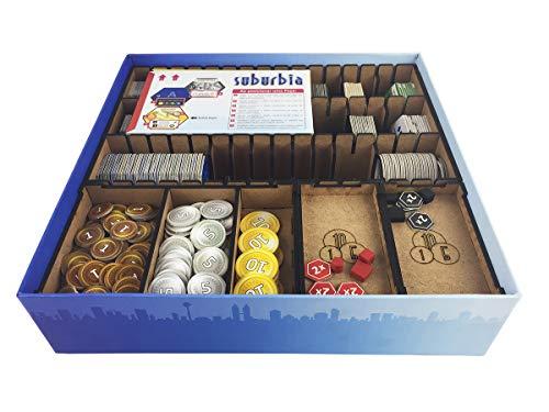 Organizador (Insert) para Suburbia - Bucaneiros Jogos