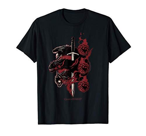 Game of Thrones Targaryen Dragons T-Shirt