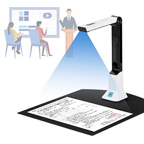 Scanner Inteligente Per, Document Camera Portatile Con Modulo Luce Supplementare a Led Converte I Documenti in Pdf word tiff excel Per Ufficio a Case Insegnamento in Linea