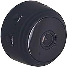 KESOTO Mini Wi-Fi Camera Wireless IP Camera Surveillance Camera 1080P HD - Black
