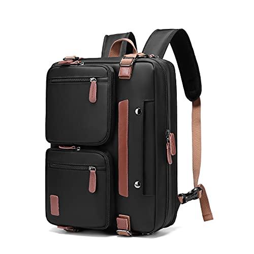 Molnia 3 in 1 Laptop Backpack, Laptop Backpack for Men, Laptop Backpack Extra Large Fits 17.3 inch Computer, for Travel College School Men Women, Black