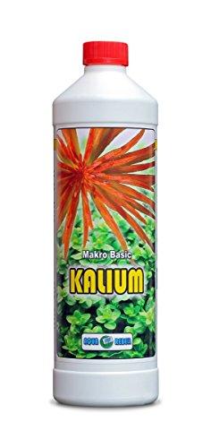 Makro Basic Kalium 1L I Wasserpflanzen-Dünger zur optimalen Versorgung von Wasserpflanzen im Aquarium