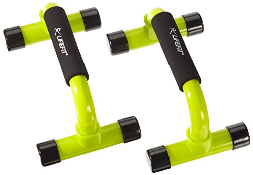 Push Up bars - Soportes para flexiones, verde claro