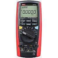 UNI-T UT71A Multímetro digital, True RMS, USB, DMM, medición de amperaje, resistencia, capacitancia