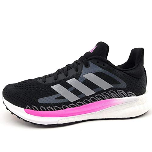 adidas Solar Glide 3 W, Zapatillas de Running Mujer, NEGBÁS/Plamet/ROSCHI, 42 EU