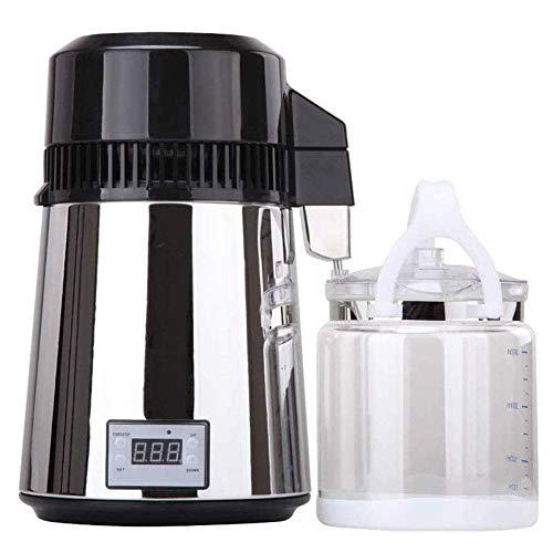 Edelstahl-Wasser-Destillation Purifier, 4L Aufsatz- 750W, Wasser-Destillierapparat ZHNGHENG