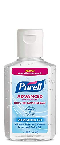 Purell Hand Sanitizer 2 oz (Pack of 5)