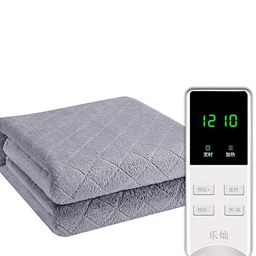 Manta eléctrica doble control doble termostato de seguridad colchón eléctrico dormitorio de estudiantes hogar-1.8 * 2.0