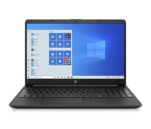HP - PC 15-gw0017nl Notebook, AMD Athlon Silver 3050U, RAM 8 GB, SSD 128 GB, Grafica AMD Radeon, Windows 10 Home S, Schermo 15.6' HD SVA, USB-C, HDMI, Webcam, RJ-45, Grigio
