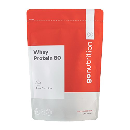 GoNutrition 2.5 kg Triple Chocolate GN Whey Protein 80 Powder