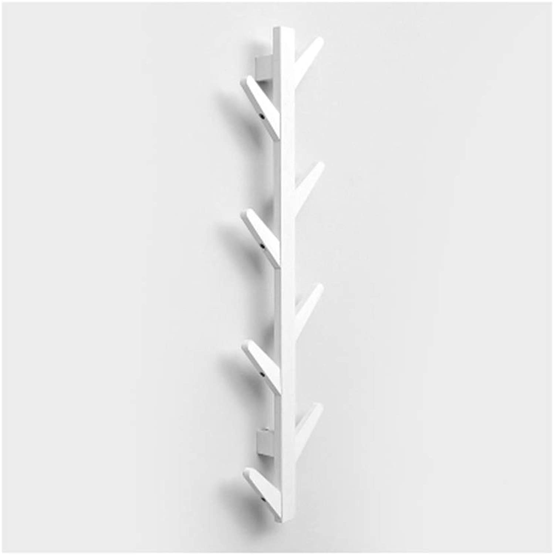 WYQSZ Coat Rack - Creative Coat Rack Wall Hanging Wall Hanger Living Room Porch Bedroom Clothes Rack Solid Wood Rack - Coat Rack 8563 (Size   B)
