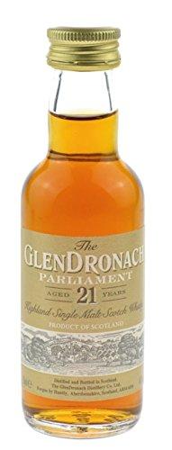 The Glendronach Parliament 21 Jahre 0,05l Miniatur - Highland Single Malt Scotch Whisky