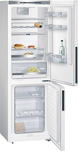 Siemens KG36EDW40 iQ500 Kühl-Gefrier-Kombination / A+++ /186 cm Höhe / 214 Liter Kühlteil / 88 Liter Gefrierteil / weiß