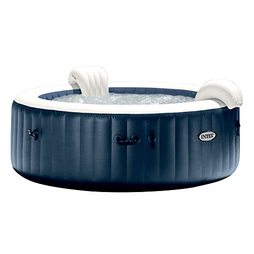 Intex Pure Spa Blue Navy 6 Places, Bleu Nuit