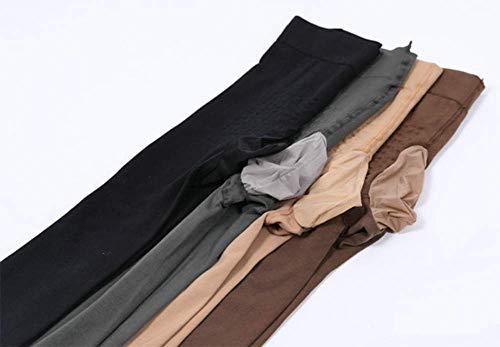 GT& Männer Strumpfhose 4 Styles 200DD Samt Warm halten sexy Strumpfhosen voll Erotische Strümpfe,Gray,JJpackageEgg