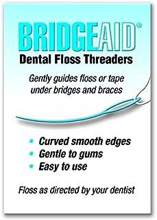 BridgeAid Dental Floss Threaders (1 Pack of 50)