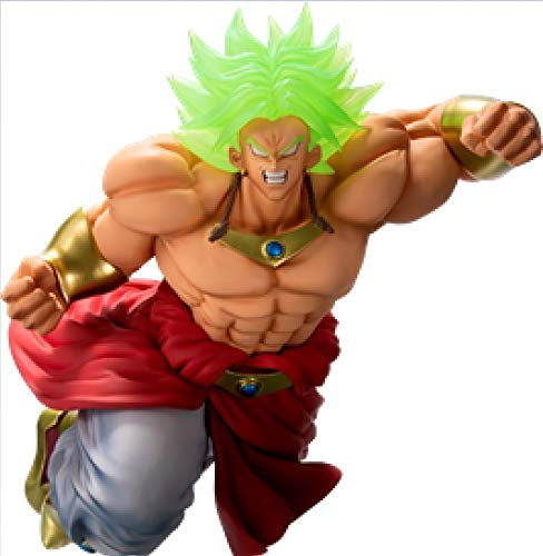 Banpresto kuji Dragon Ball Saiyan Battle E award Broly 93 Figure 20cm