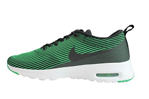 NIKE - Zapatillas de Correr Nike Air MAX Thea Jacquard para Mujer, Negro/Verde (Spring Leaf)/Blanco 718646-005 para Mujer