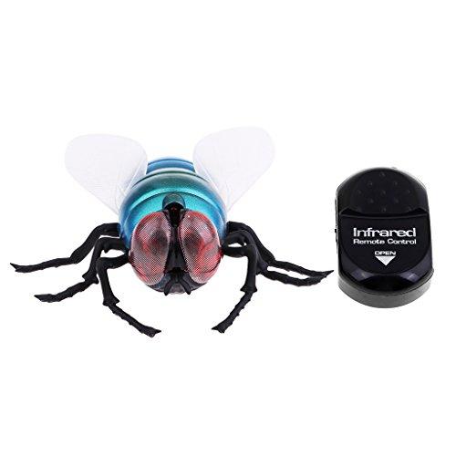 SM SunniMix Juguetes Divertidos Eléctricos de Los Animales de Los Insectos Teledirigidos Infrarrojos Complicados para El Partido - Mosca 9.8 x 11cm