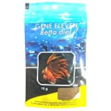 Foodie Puppies Gene Eleven Growth Color Enhancer Sinking Crumbles Betta Diet Fish Food with Free...