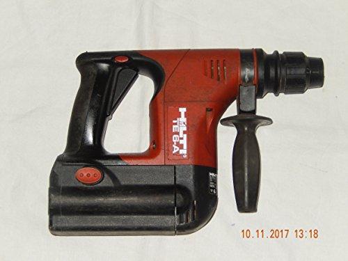 HILTI - TE6A Akku-Bohrhammer mit 1 Stück original Hilti Akku BP 6-86 oder BP6/2,4 (Leer oder Defekt), ohne weitere Zubehör