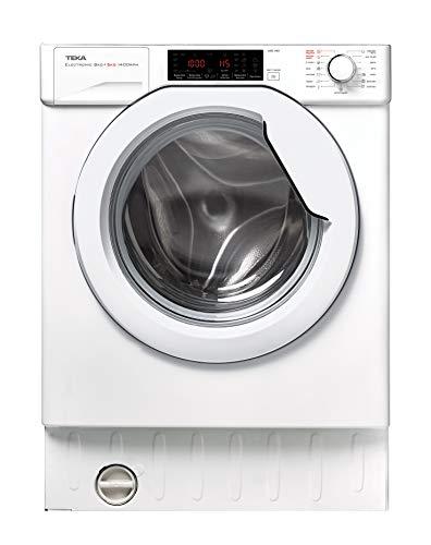 TEKA   Lavadora secadora integrable A de 8kg de capacidad de lavado...