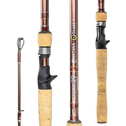 Enigma Fishing Atomic29 Pro Tournament Series High-Performance Bass Fishing Rods