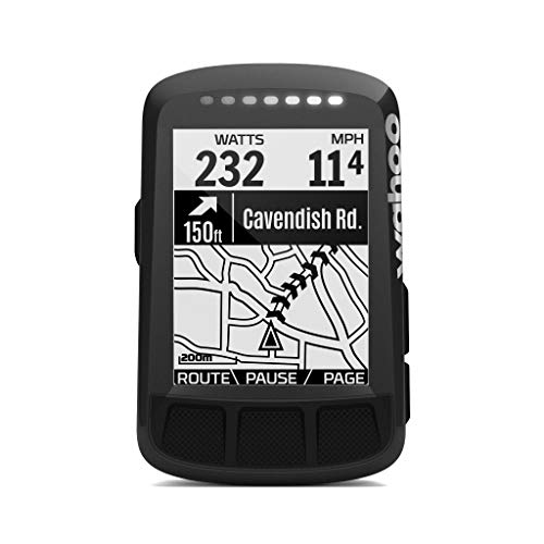 Wahoo Fitness ELEMNT Bolt GPS Bike Computer, Stealth Black