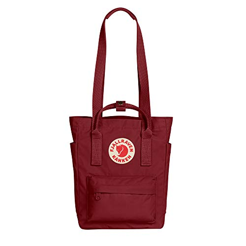 Fjallraven, Kanken Totepack Mini Backpack with Tablet Sleeve for Everyday Use and Travel, Ox Red