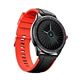 boAt Flash Edition Smartwatch with Activity Tracker,Multiple Sports Modes,Full Touch 1.3' Screen,Gesture Control,Sleep Monitor,Camera & Music Control,IP68 Dust,Sweat & Splash Resistance(Moon Red)