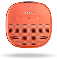 Bose SoundLink Micro: Small Portable Bluetooth Speaker (Waterproof), Bright Orange