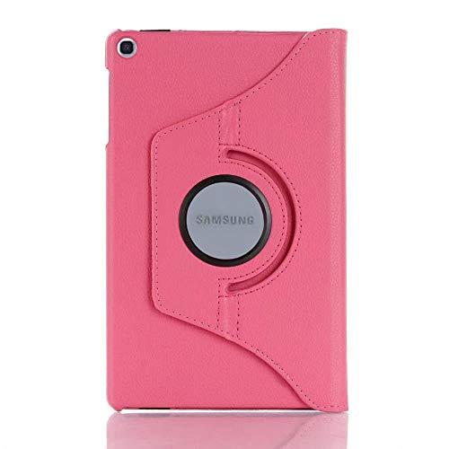 Mazu Homee Funda para tablet PC, funda de piel sintética con rotación de 360 grados, adecuada para Samsung Tab A 10.1 T510, T720, P610 Funda de piel S5e