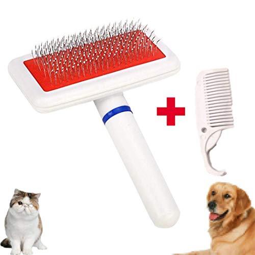 LKTingBax Fellpflegekamm, Haarentfernungsbürste, Effizientes Tierhaarentfernungs-Set, einfache Pflege langer Haare und kurzer Haare von Katzen und Hunden, macht das Leben einfacher