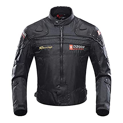 BORLENI Chaqueta de moto a prueba de viento motocicleta armadura de equipo de protección otoño invierno verano para hombre de toda estaciòn XL