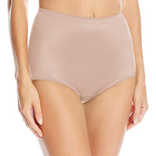 Vassarette Women's Undershapers Light Control Brief 40001