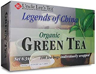 Legends of China Organic Green Tea-100 bags Brand: Uncle Lees Tea