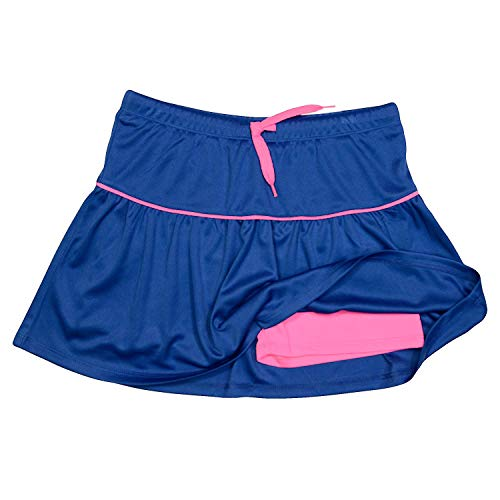 PUMA Girls Athletic Tennis Skort Running Active Yoga Gym Activewear Blue Large