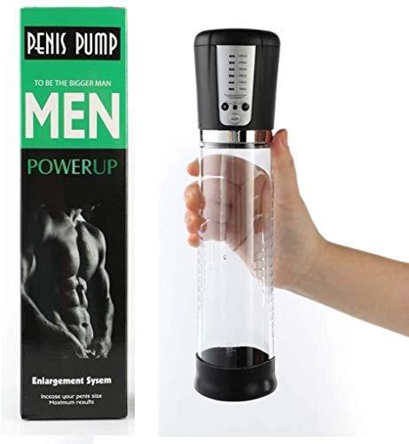 FWYM Penis pumpen Penispump for Männer 5 Saug Sicher Enhance Pens Muscle grösseres Bild Größe Trainer