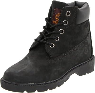 Timberland 6 Inch Boot (Toddler/Little Kid/Big Kid),Black ,8 M US Toddler