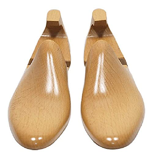 qazxsw Camilla de Zapatos de Madera/Zapatero de Madera de Lujo, Camilla de Zapatos Ajustable Cuidado de Zapatos para Hombres